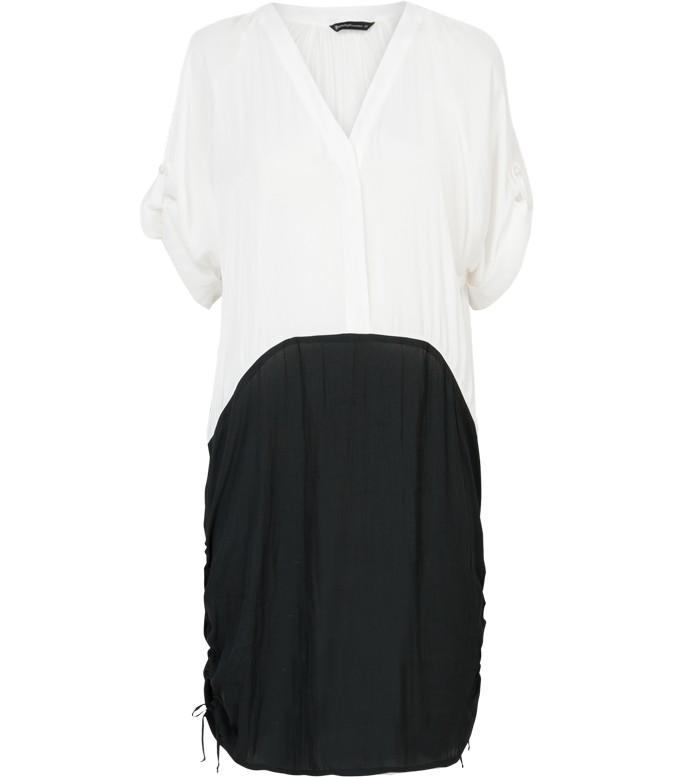 zwart witte jurk Summum 5s665