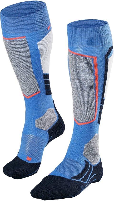 Blauwe dames sokken - Falke - 6545