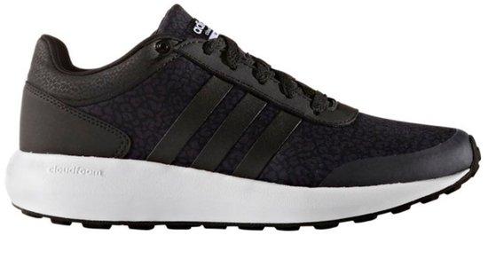 Zwarte dames sneaker Adidas - Cloudfoam race W AW5288