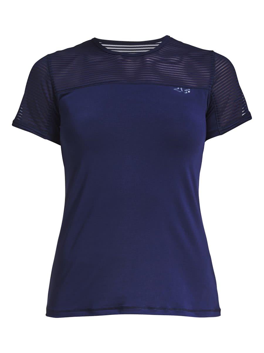 Donkerblauw dames shirt Rohnisch - 227169