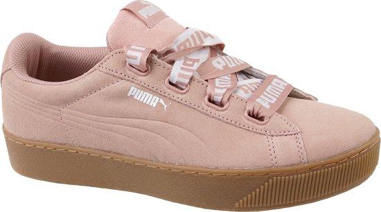 Rose dames sneaker Puma Vikky Pltfm Ribbon Bold - 365314-02