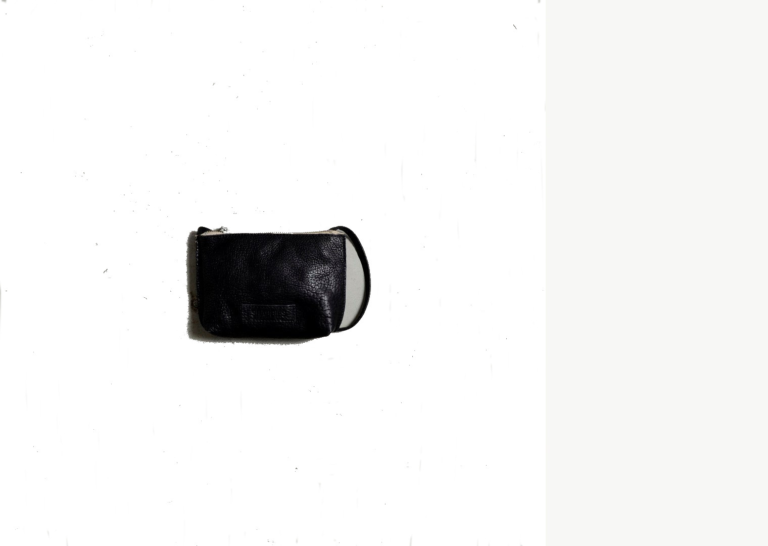 Zwart dames tasje Shabbies - 603115