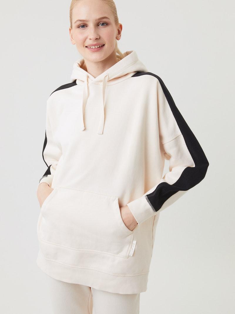 Creme witte dames hoodie - Björn Borg - 10000007 - NL001