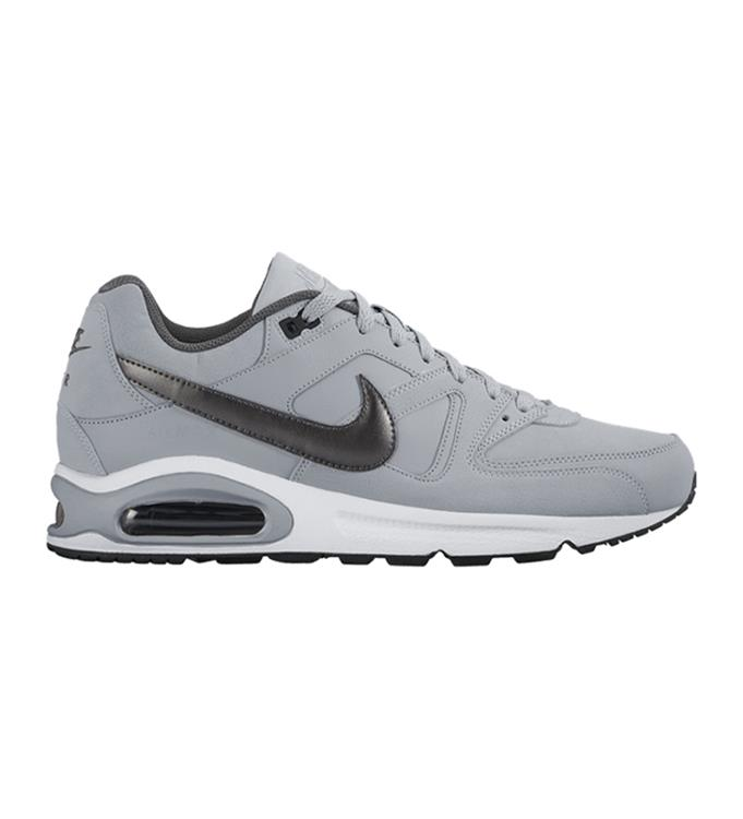 Grijs zwart Witte Heren sneaker Nike Air max Command Leather - 749760-012