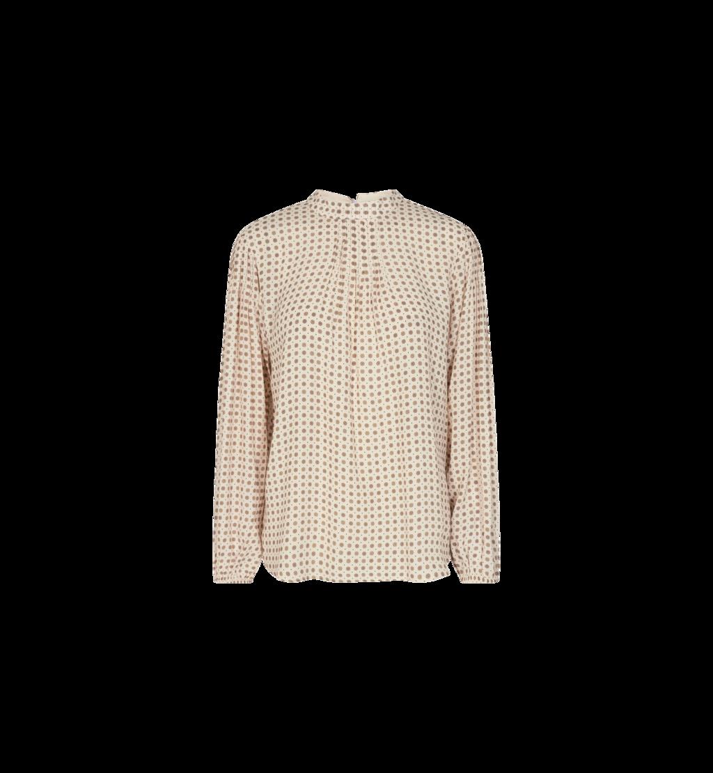 Room witte dames blouse - Mos Mosh Fina Tilla blouse - 140020-180