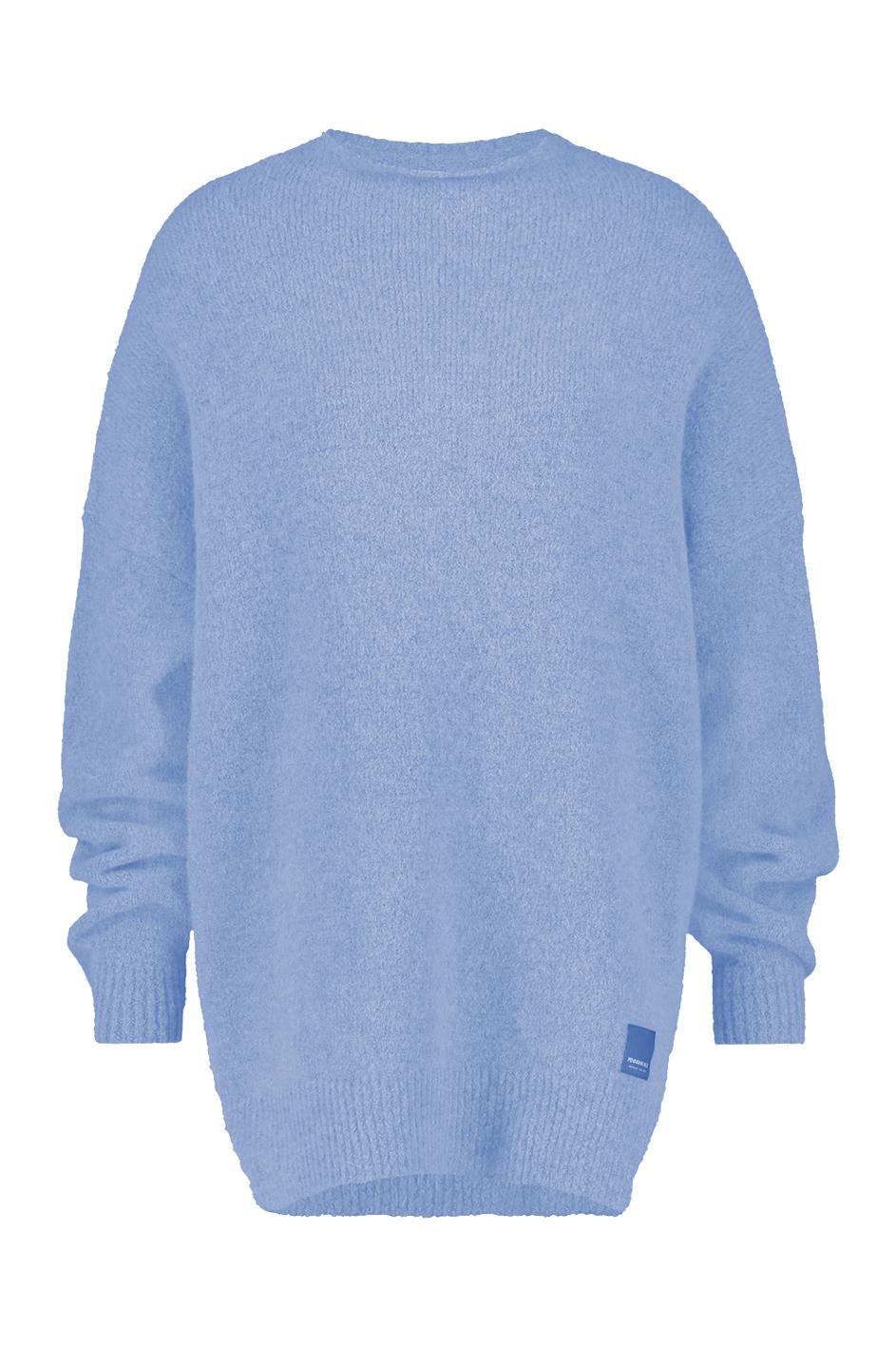 Blauwe dames trui Penn & Ink - W19L101