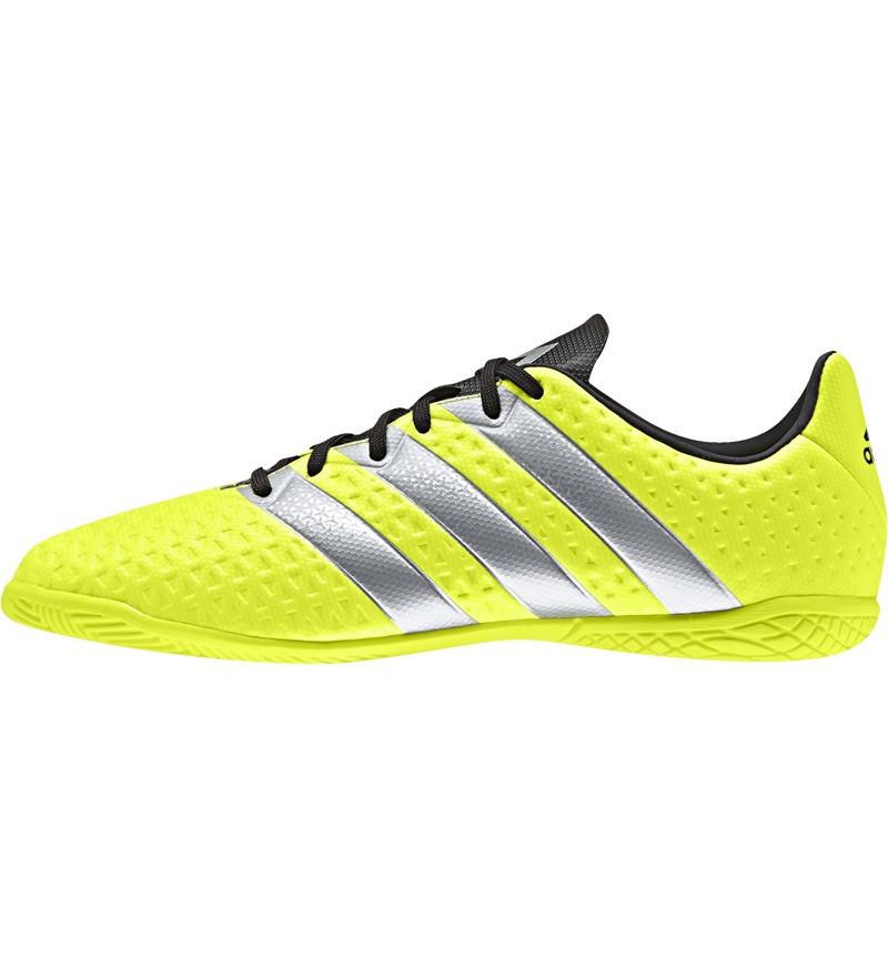 Gele Adidas Ace 16.4 Indoor Junior