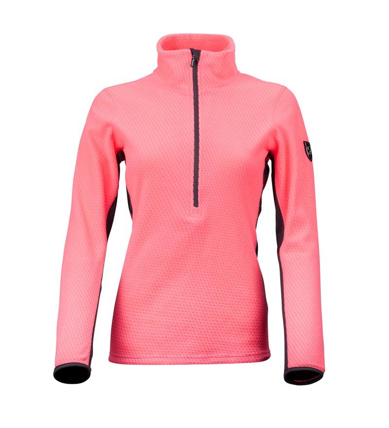 Roze dames ski pully Falcon - Brody