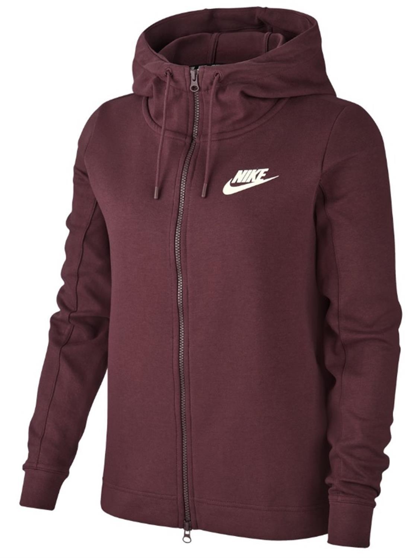 Bordeaux dames vest Nike - 930899 W NSW AV15 HOODIE FZ