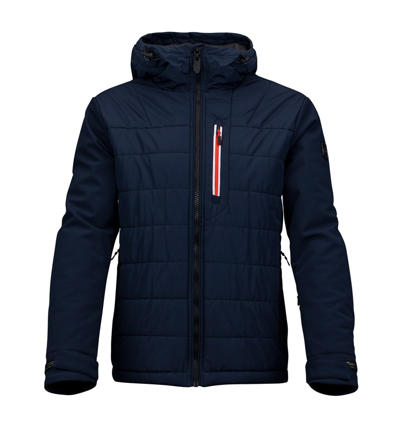 Donkerblauw heren jack Falcon - Rion