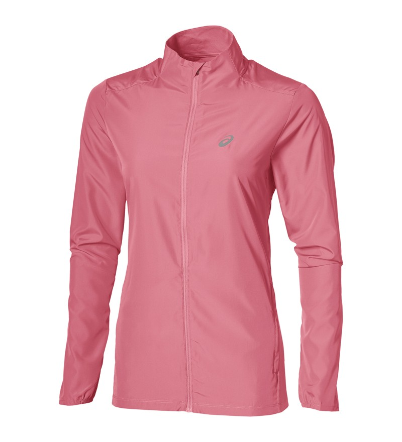 Roze dames running jacket Asics