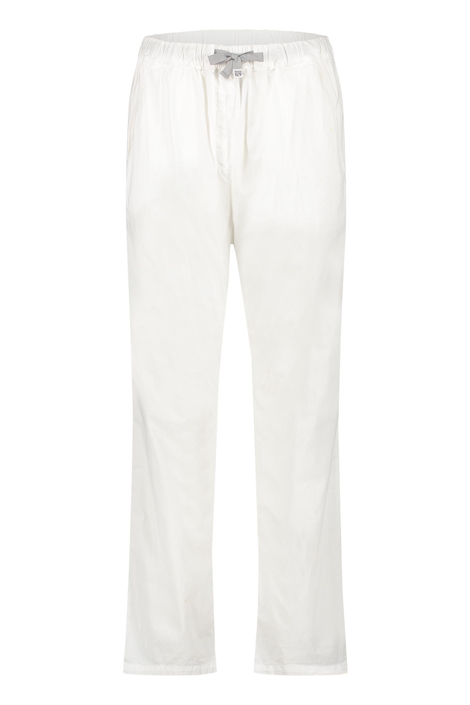 Witte dames broek - Penn&Ink - S21W317 - white