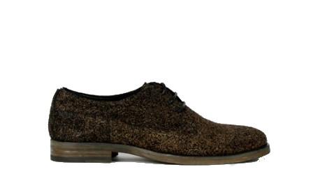 Bruin zwarte dames schoenen Fred de la Bretoniere - Hirsi