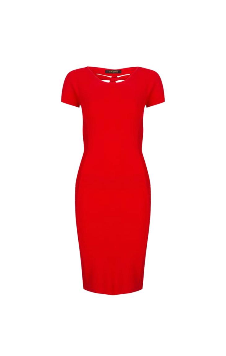 Rode dames jurk Supertrash - Dasai