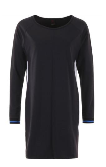 Zwarte dames jurk Penn & Ink - W17F016pre