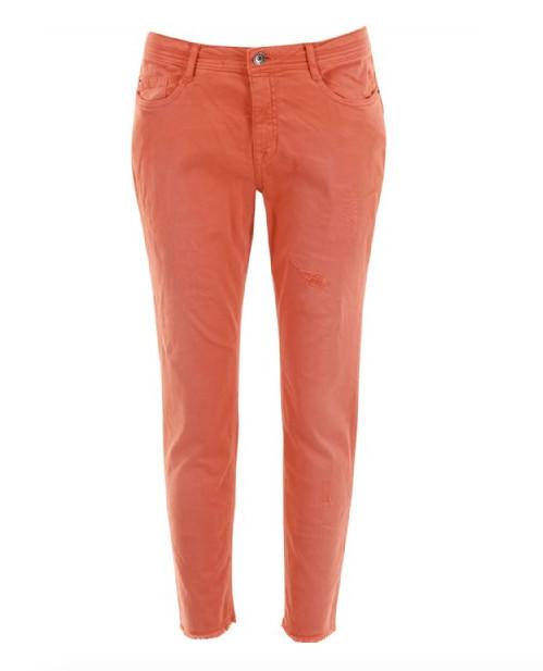 Oranje dames broek Summum - 4s1550