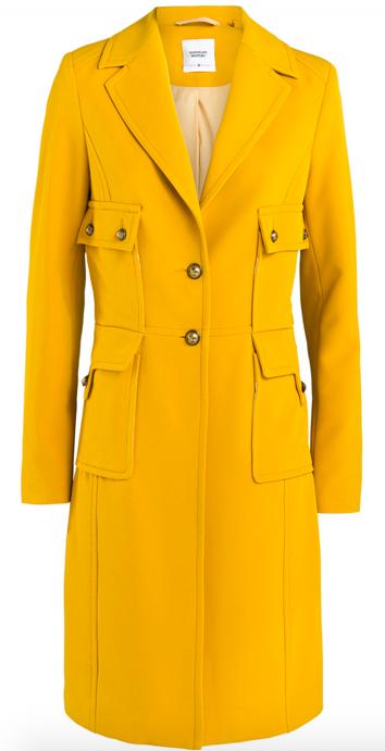 Gele dames jas Summum - 1S894-10738