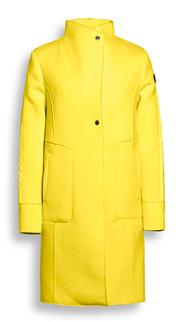 Gele lange dames jas Reset - 114 yellow
