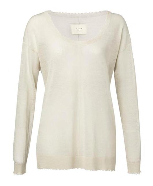 Witte dames trui Yaya - 99186
