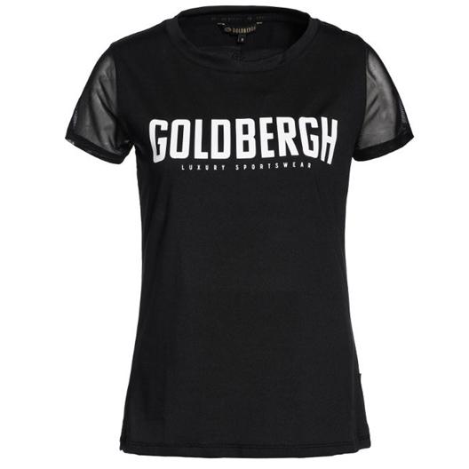 Zwarte dames sport shirt Goldbergh - 900 black