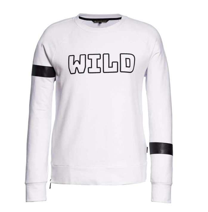 Witte dames sport sweater Goldbergh - 800 white