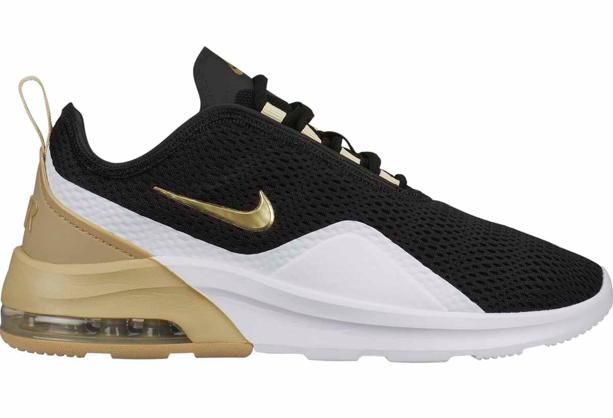 Zwart wit gouden Dames sneaker Nike - 005