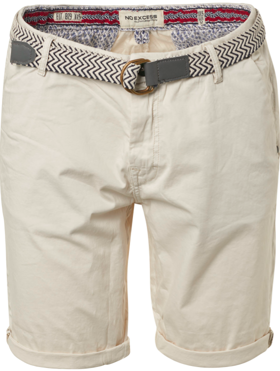 Heren short zandkleurig van No Excess - 045
