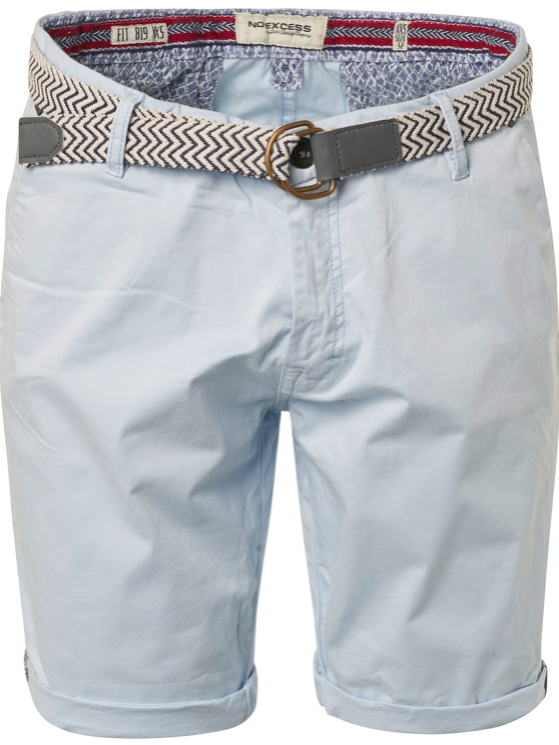 Heren short lichtblauw van No excess - 166