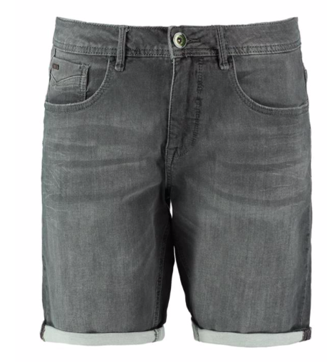 Grijze denim heren short van No Excess - 224