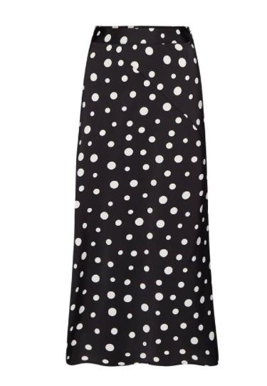 Zwart/witte dames rok Fabienne Chapot - Claire skirt - black/off-white