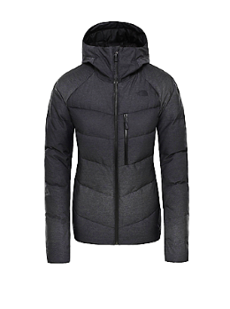 Zwarte dames winterjas The North Face - W heavenly down jacket - black