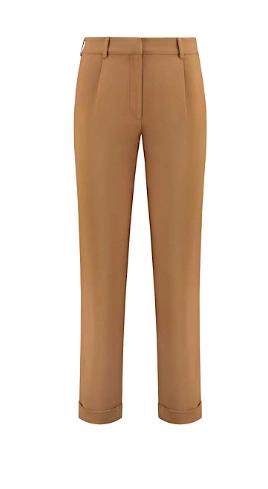 Camel kleurige dames broek NIKKIE - Raomi pants N2-472 2001 2800