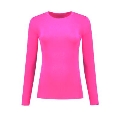 Roze dames shirt Nikkie - Jolie top LS - N7-303 2001 4030