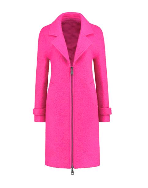 Roze dames jas Nikkie - Nada coat - N4-698 2001 4030