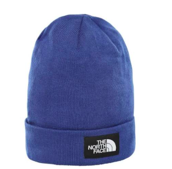 Blauwe muts - The North Face - Dockwerker Beanie - NFOA3FNTEF1
