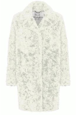 Witte dames jas - Giacomo - fake fur - off white