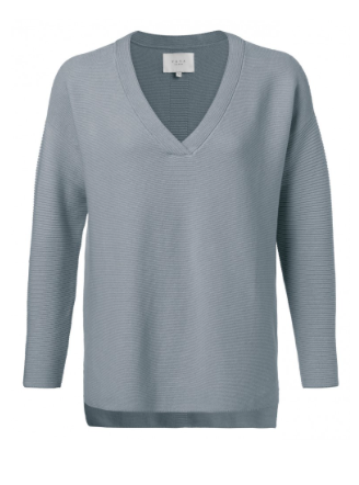 Blauwe dames trui - YAYA - 1000271-011