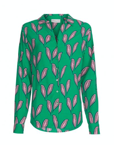 Groen geprinte dames blouse - Fabienne Chapot - Lily Noa blouse
