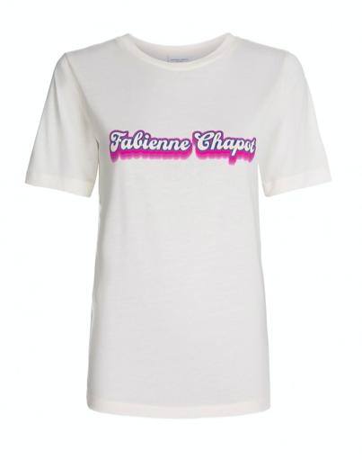 Wit dames shirt met tekst - Fabienne Chapot - Wordy shirt - off white