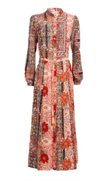 Geprinte dames jurk - Summum Woman - 5S1130-11103