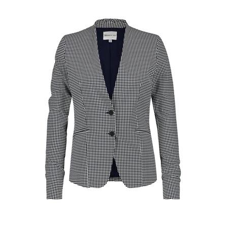 Gestipte dames blazer - Penn & Ink - S20703P - 800