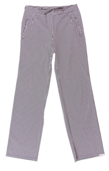 Gestipte dames pantalon - Penn & Ink - S20M-Dalla - dot 800