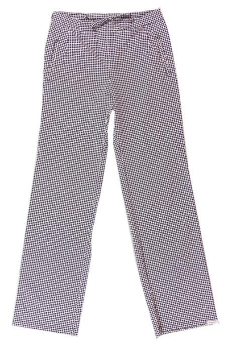 Gestipte dames pantalon - Penn & Ink - S20M-Dalla - dot 800
