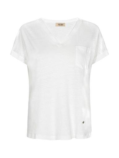 Wit dames shirt - Mos Mosh - 131910 - 101