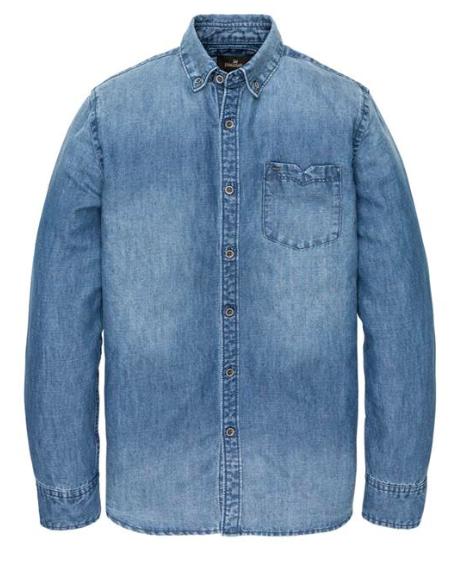Denim heren overhemd - Vanguard - VSI201216 - 5406