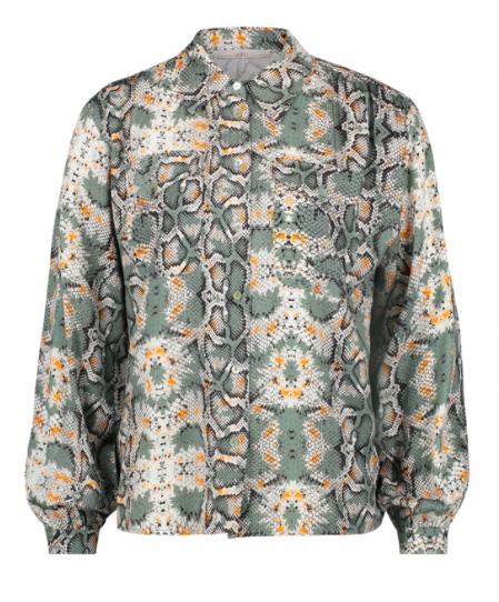 Geprinte dames blouse - Aaiko - Tianna - 175107