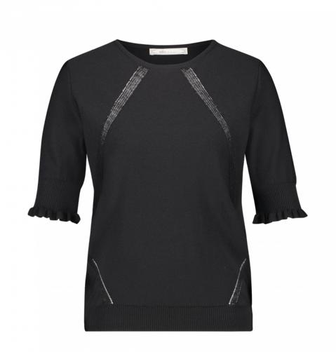 Zwarte dames top - Aaiko - Raissa - 900 black