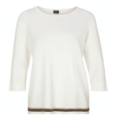 Witte dames top - S. Oliver - 0200