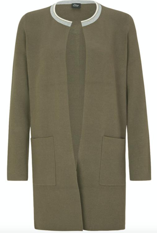 Groen dames vest - S. Oliver - 8546