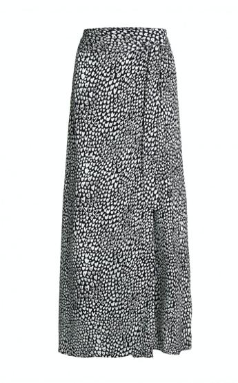 Zwart/witte geprinte rok - Fabienne Chapot - Bobo skirt - off white/black
